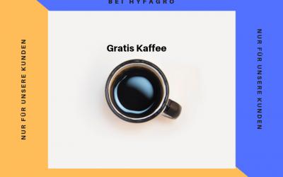 Kaffee Happy Hour