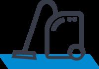 Reinigungsmaschinen Icon